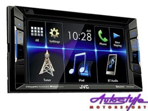 JVC KW-V230BT Double Din DVD Receiver with Bluetooth-0