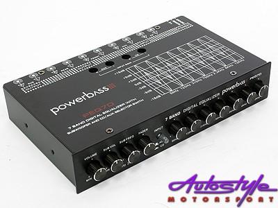 Powerbass 7 Band Digital Equalizer -0
