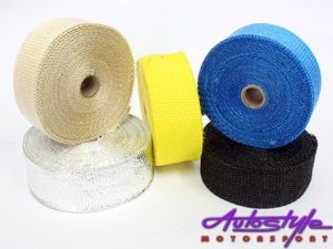 Universal Exhaust Heat Wrap Foil 10m-0