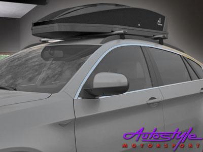 Rebel RoofBox 400 Roof Storage Carriers (black)-25025