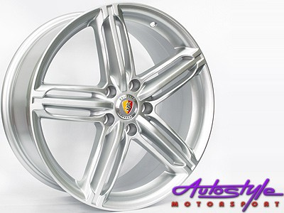 18″ TTR Hungaro 5/112 Silver alloy wheels