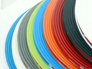 Wheel Rim Lip Protector Stripe Kit (orange)-0