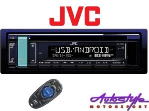 JVC KD-R489 Mp3 Cd with USB/Aux-0