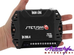 Stetsom Iron Line Micro Amplifier 70rms x 4-25161