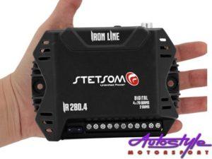 Stetsom Iron Line Micro Amplifier 100x2ch|200x1ch-25162