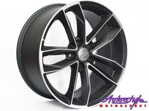 "18"" CT1208 5/112 Matt Black Wheels-0"