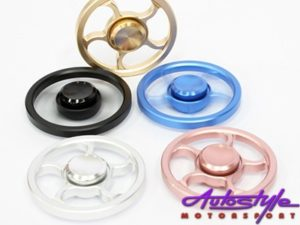 Fidget Spinner Alloy Wheel Design (Assorted Colors)-0