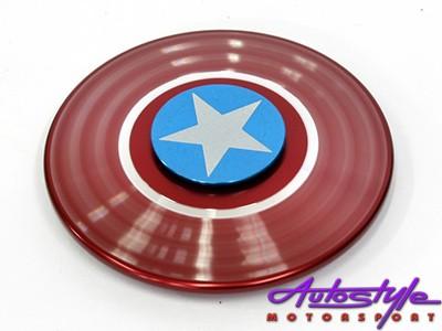 Fidget Spinner Capt America Style