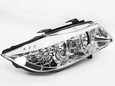 Suitable for E90 05-08 LED Chrome Angel Eye H/Lights