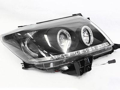 2011 Toyota Hilux Angel Eye Smoke Headlights