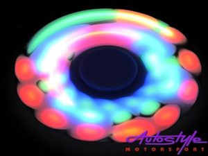 Fidget Spinner with LED Lights (8cm)-25425