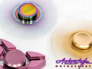 Fidget Anodized Steel Spinner (small 6cm)-25427