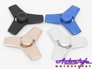 Fidget Anodized Steel Spinner (large 8cm)-0