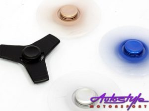 Fidget Anodized Steel Spinner (large 8cm)-25429