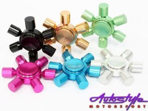 Fidget 6 Pointer Brass Metal Finish (7cm)-0