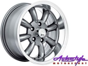 "15"" A-Line Zero 5/114 GMML Alloy Wheels-0"