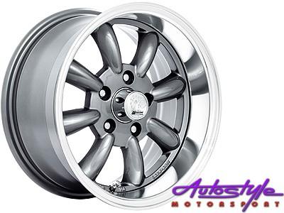 15″ A-Line Zero 5/114 GMML Alloy Wheels