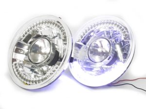 Universal Round Projector LED Headlights (pair)-0