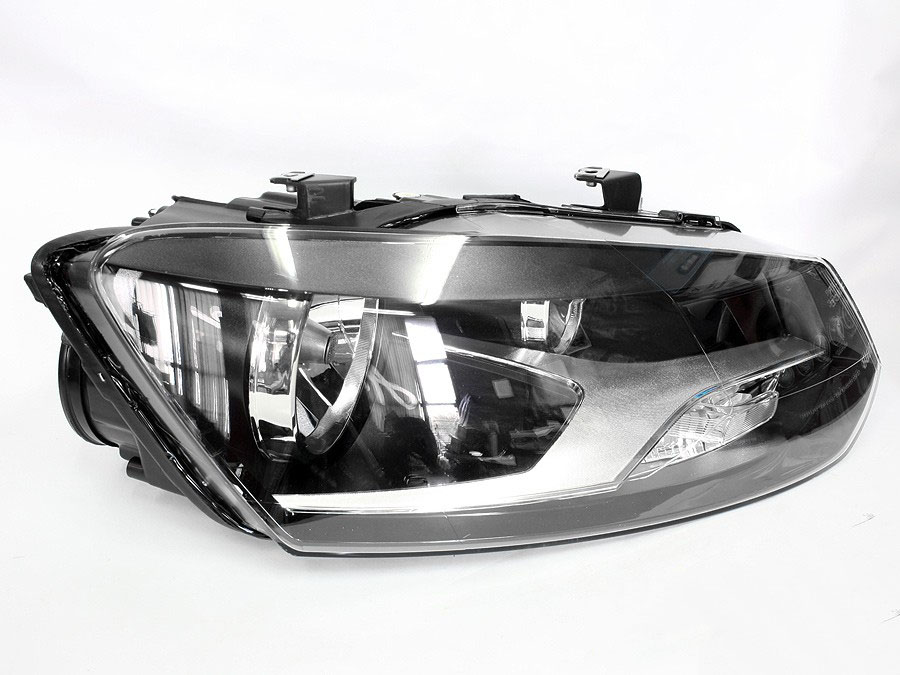 vw polo 2010 2014 replacement headlight left autostyle. Black Bedroom Furniture Sets. Home Design Ideas