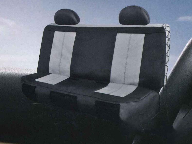 EZ-Fit Grey Seat Cover Set (rear seats)