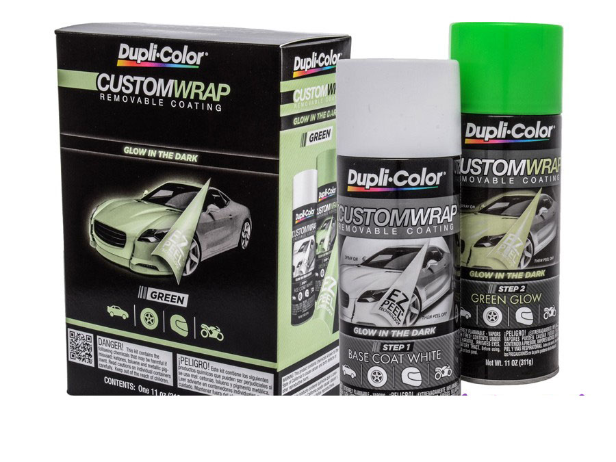 Dupli-Color Custom Wrap Glow In the Dark Green