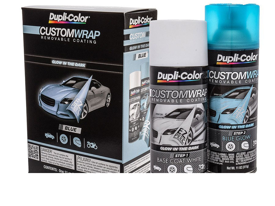 Dupli-Color Custom Wrap Glow In the Dark Blue