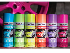Dupli-Color Custom Wrap Renovating Coating (Neon Electric Lime)-0