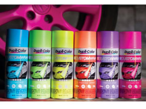 Dupli-Color Custom Wrap Renovating Coating (Neon Intense Yellow)-0