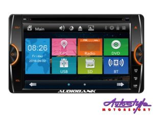 Audiobank NAB-6882UN Double Din DVD/GPS for Toyota -0