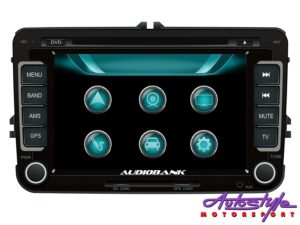 Audiobank NAB-6882UN Double Din DVD/GPS for Volkswagen-0