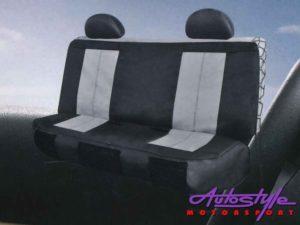 EZ-Fit Grey Seat Cover Set (rear seats)-0