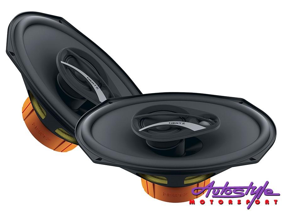 Hertz Dieci 3way Coaxial 300w Speakers-0