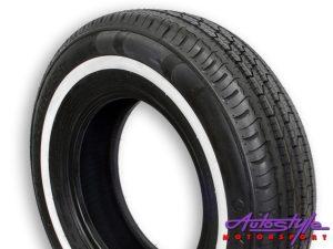 195R14C Wanli White Wall Tyres-0