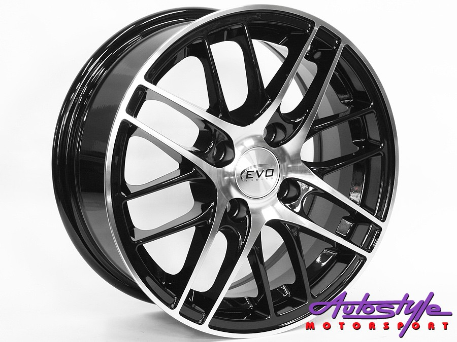"14"" Evo Aspen 4/100 Alloy Wheels-0"