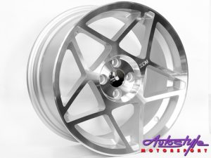 """17"""" Evo Venom 4/100 Alloy Wheels-0"""
