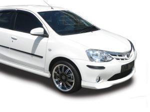 Toyota Etios OEM Spec Plastic Front Spoiler-0