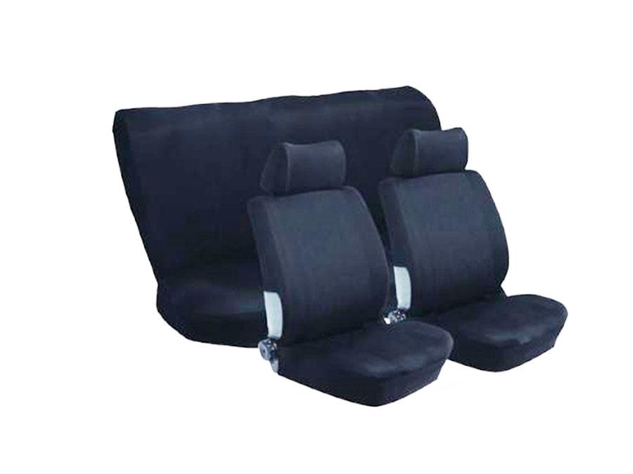 Stingray Nexus 6pc Full Car Seat Cover Set (Black)