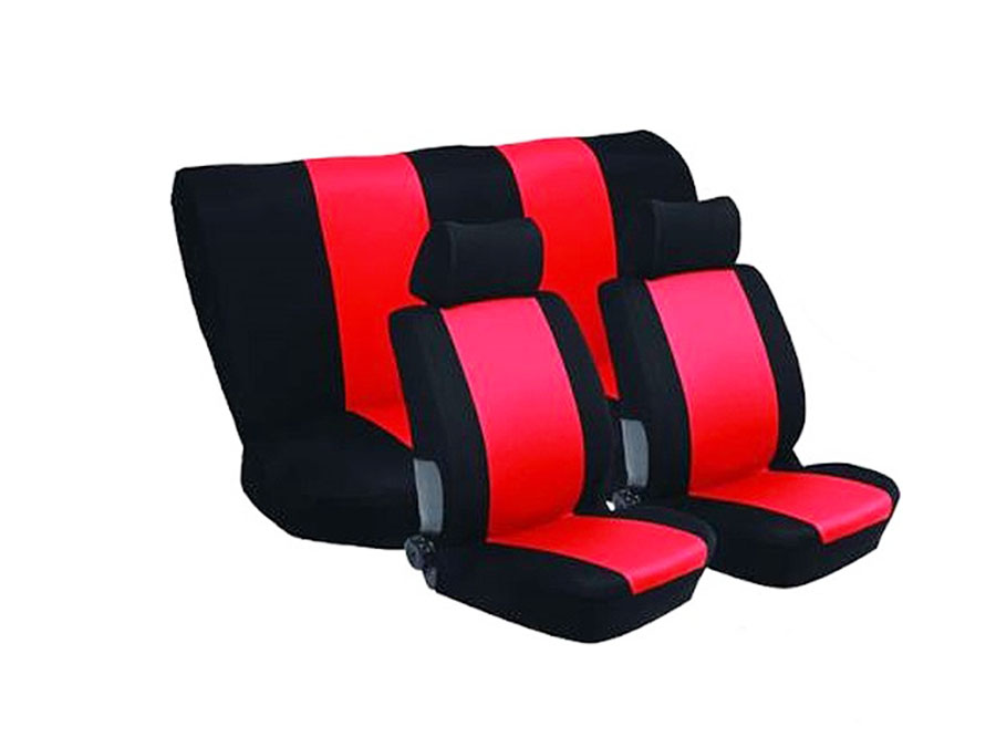 Stingray Nexus 6pc Full Car Seat Cover Set (red)