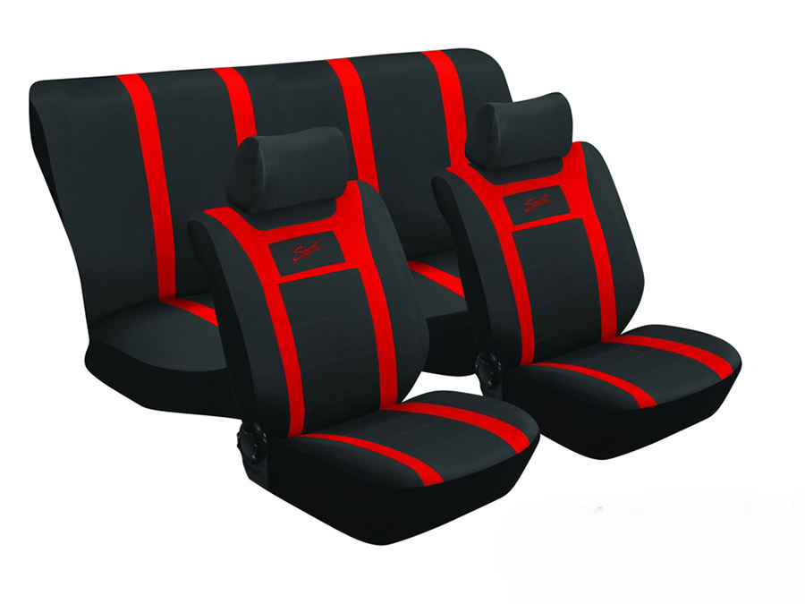 Stingray SA60 6piece Seat Cover set (red)