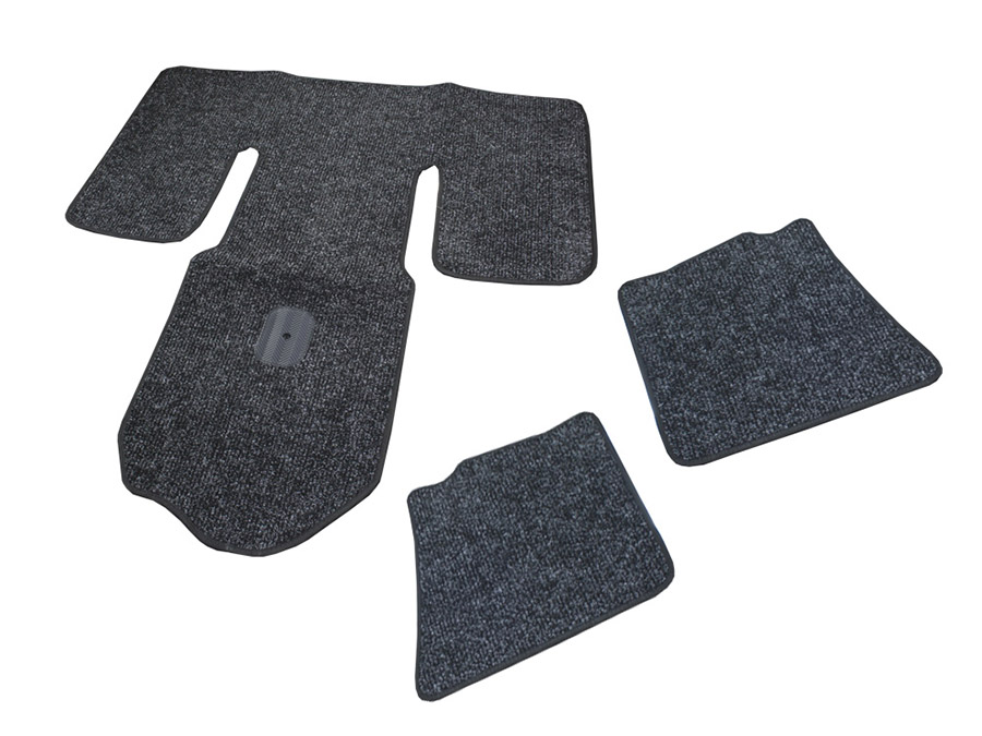 Charcoal 5pc Floor mats for Classic VW Beetle (65-74)