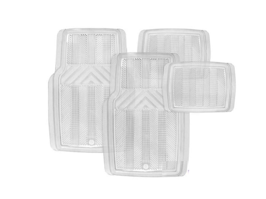 Stingray - Techno Clear PVC Car Mats - 4 Piece Set