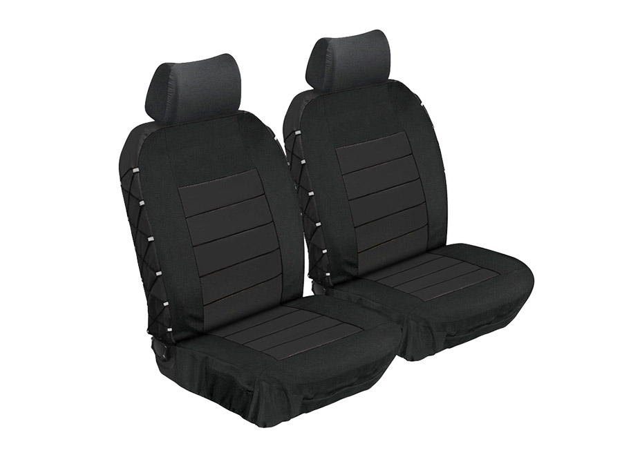 Stingray Ultimate HD Front Seat Covers (black)