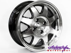 "14"" Evo ATS 4/100 Alloy Wheels-0"