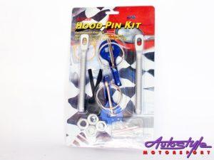 Universal Bonnet Catch Kit (blue)-0