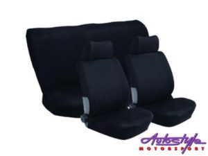 Stingray Nexus 6pc Full Car Seat Cover Set (Black)-0