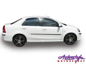Toyota Etios OEM Spec Plastic Side Skirts (sedan)-0