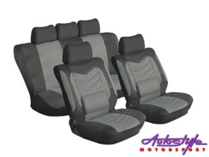 Stingray Grandeur 11pc Seat Covers (anthracite)-0