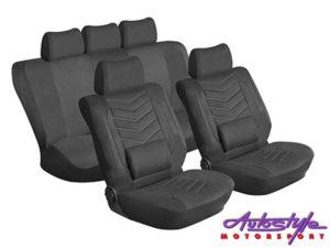 Stingray Grandeur 11pc Seat Covers (black)-0