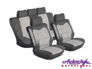 Stingray Grandeur 11pc Seat Covers (grey)-0