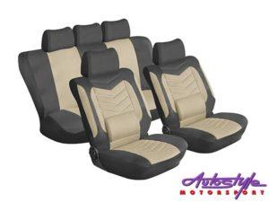 Stingray Grandeur 11pc Seat Covers (tan)-0